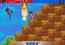 SEGA Google Play Store Gunstar Heroes Classic