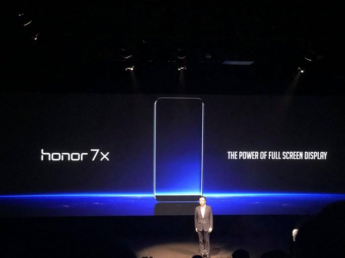 oficialmente apresentado Huawei Honor 7X nova aposta Europa smartphone