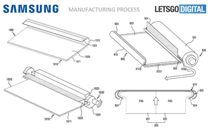 Samsung Smartphone display curvo prepara