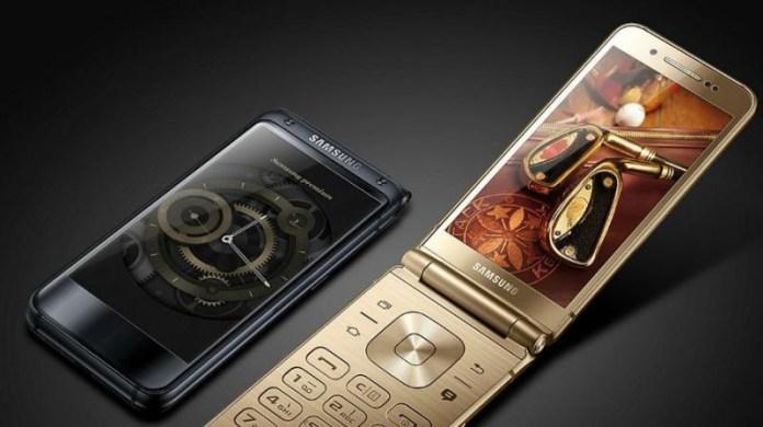 Samsung W2018 smartphones concha