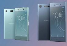 Sony Xperia XZ Premium Android atualização