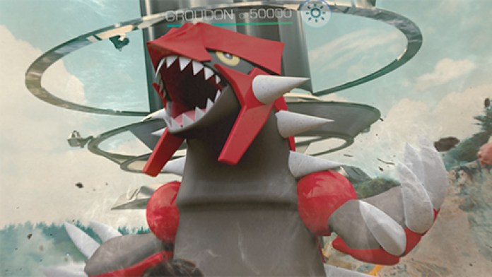 Pokémon GO Groudon Raid Boss Niantic
