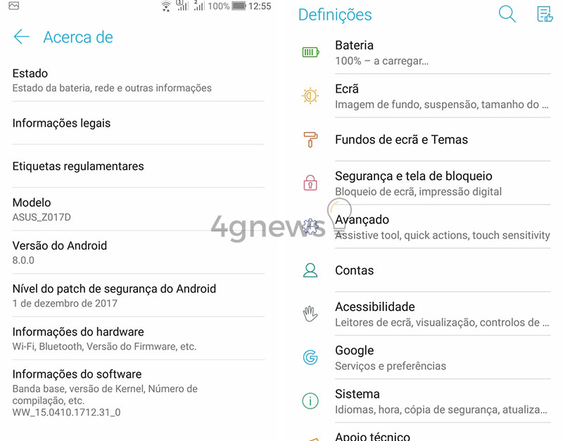 Asus libera Android Oreo para o Zenfone 3 e Zenfone 4