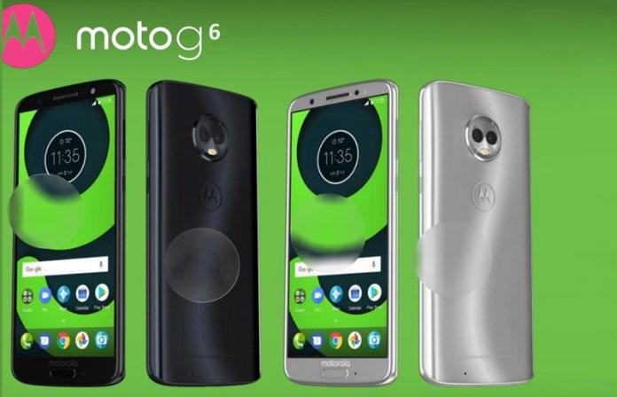 Motorola Moto G6, G6 Plus e G6 Play serão assim os novos Android?