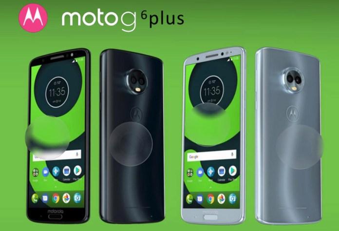 Motorola Moto G6 Plus Android Oreo