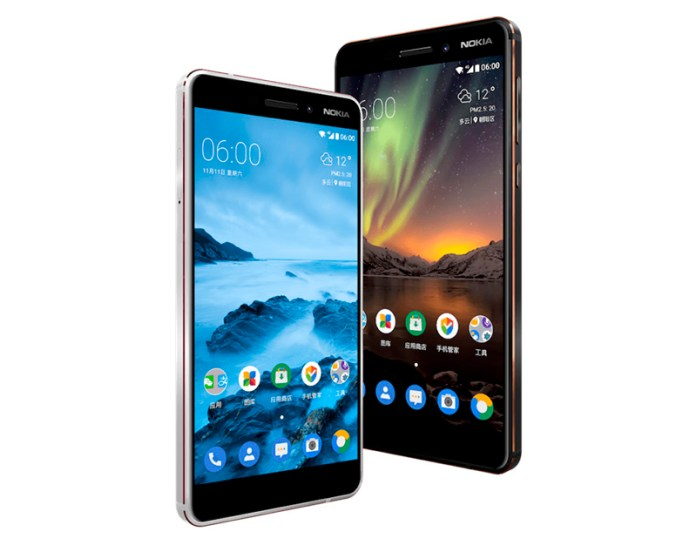 Nokia 6 2018 smartphone Android oficial