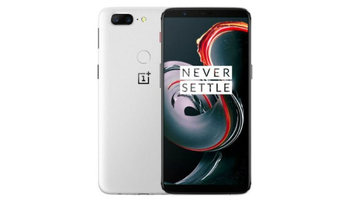 OnePlus 6 Snapdragon 845 OnePlus 5T Sandstone White 1
