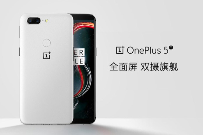 "OnePlus 5T - Assim será a variante em branco ""Standstone"""