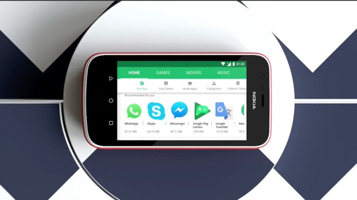 Android Go Nokia 1 Android Go MWC 2018