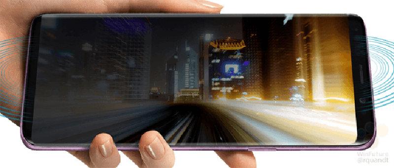 leak de imagens Samsung Galaxy S9 leak imagens 2