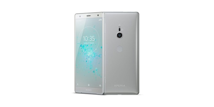 flagshipSony Xperia XZ2 Android com câmara dupla