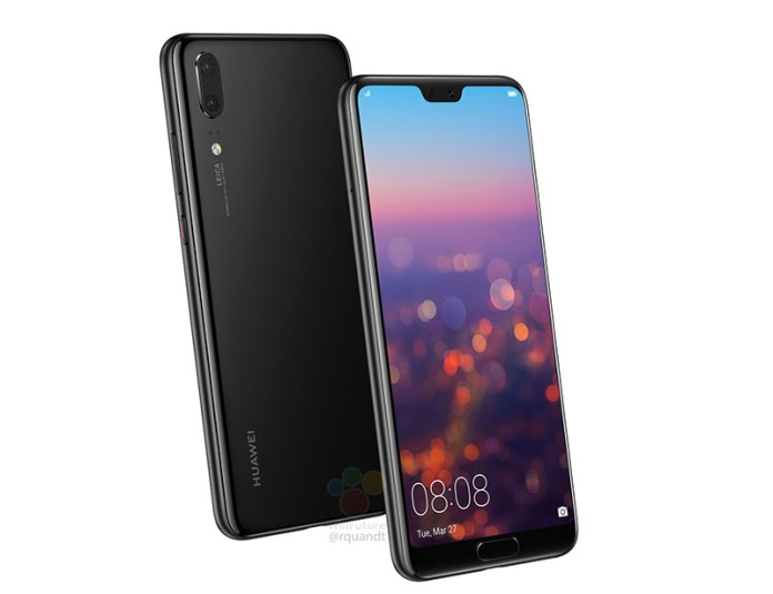 Huawei P20 características Twitter