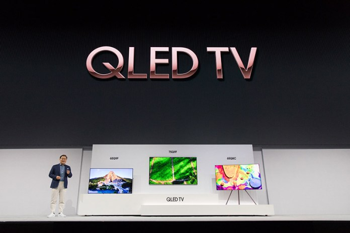 TV's QLED TV Smart TV's Jonghee Han, President of Visual Display Business Samsung Electronics The Wall microLED TV QLED Samsung