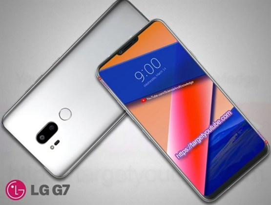 LG G7 smartphone Android notch
