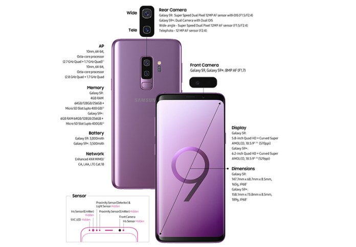 Samsung Galaxy S9 Plus Android Oreo Portugal