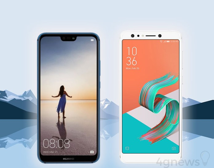 ASUS ZenFone 5 Lite Huawei P20 Lite Android