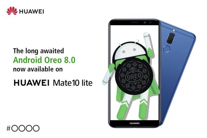 Android Oreo Huawei Mate 10 Lite