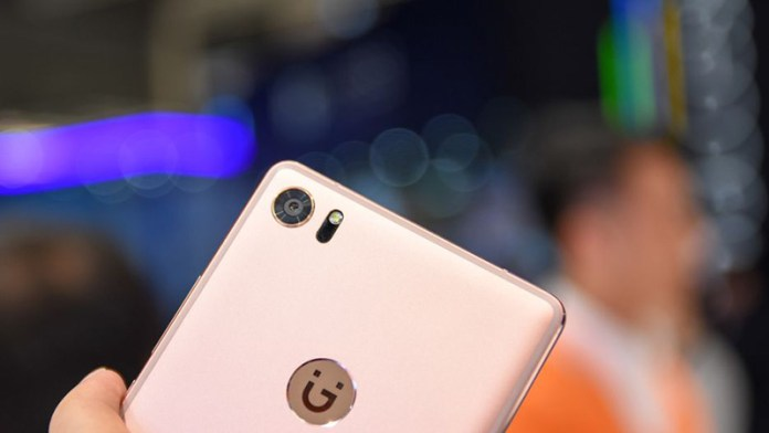 Gionee Android smartphone