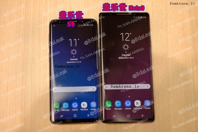 Samsung Galaxy Note 9 Android Oreo