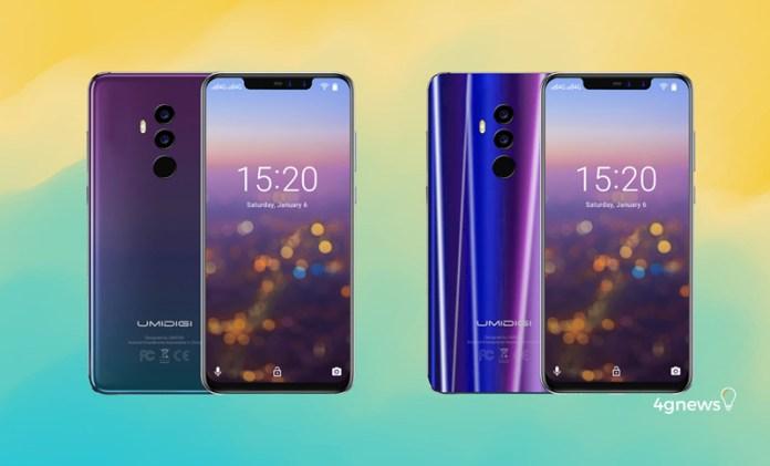 Umidigi Z2 e Z2 Pro traz a notch do iPhone X e a cor do Huawei P20 Pro