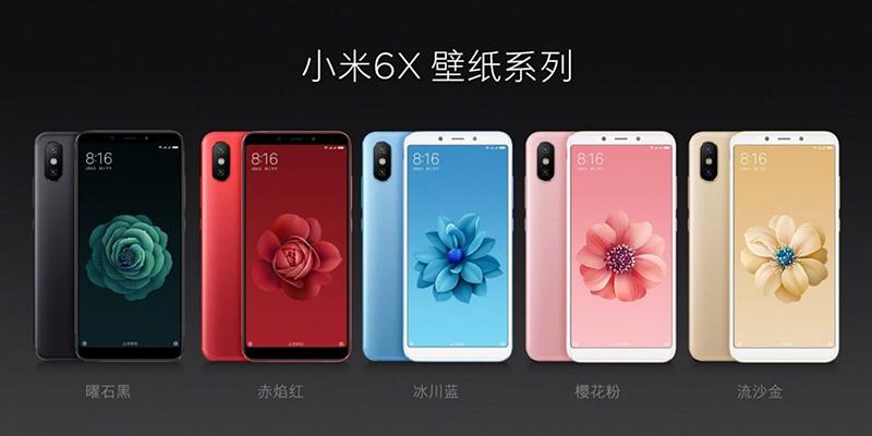 Xiaomi Mi A1 Xiaomi Mi 6X Android Oreo
