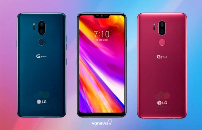 LG G7 ThinQ: Futuro smartphone chegará com 3 tonalidades