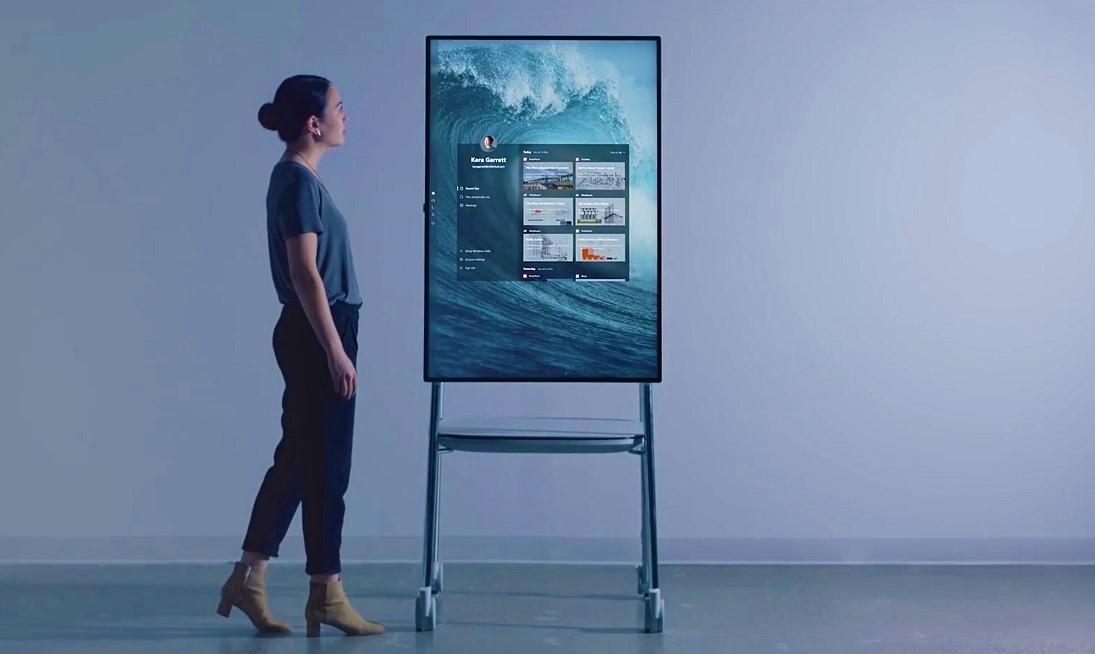 Surface Hub 2, da Microsoft, será lançado em 2019