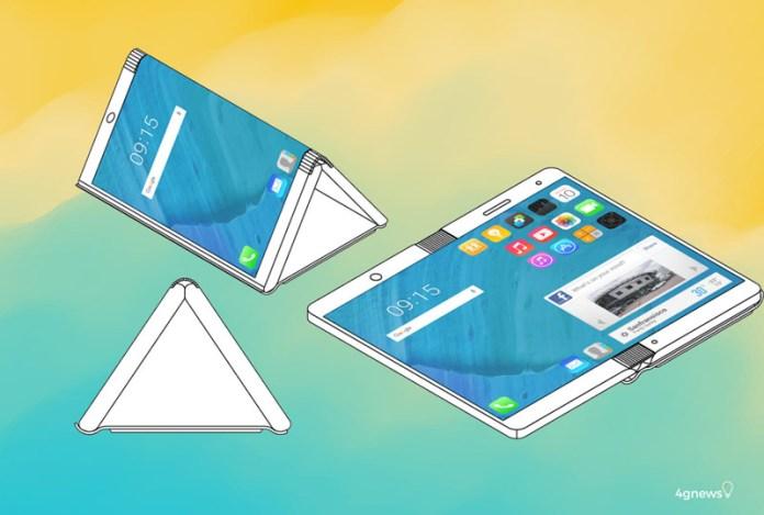 Não é só a Samsung. Outra fabricante quer fazer um smartphone dobrável