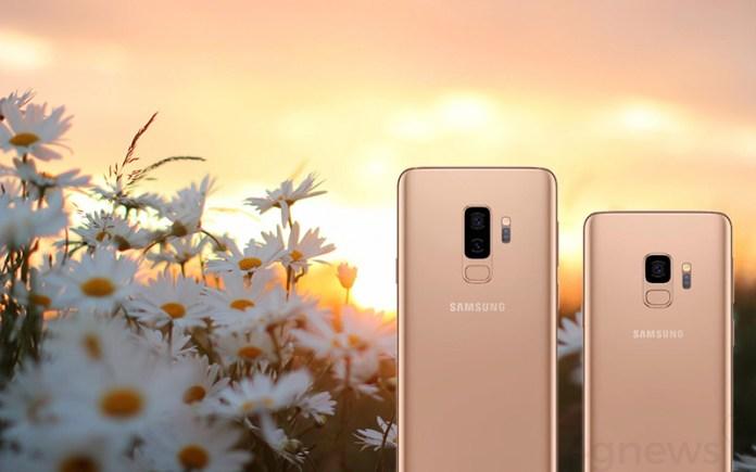 lucros analistas Samsung Galaxy S9 Plus Dourado Amanhecer energia
