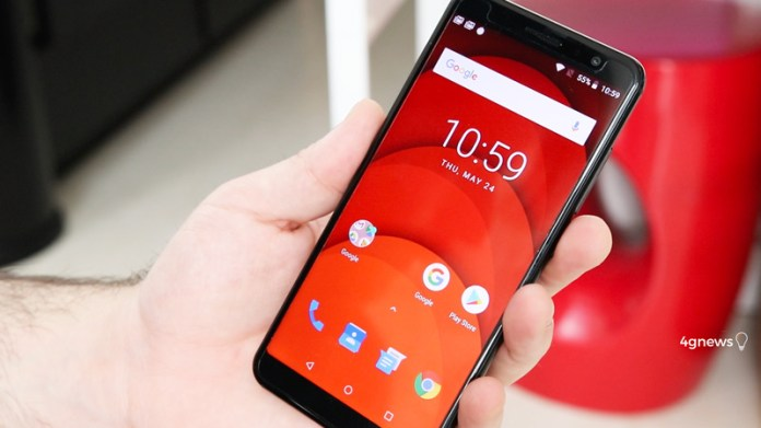 Android. O Umidigi A1 Pro não parece custar tão pouco