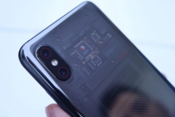 Android OnePlus 6 Xiaomi Mi 8 Explorer Edition SE 2