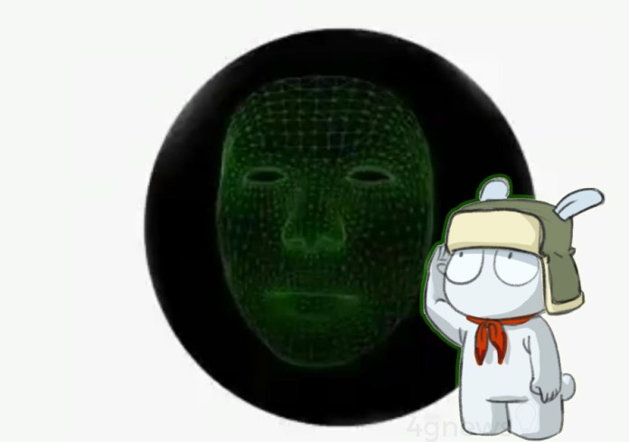 Xiaomi Mi 8 Face ID reconhecimento facial 3D