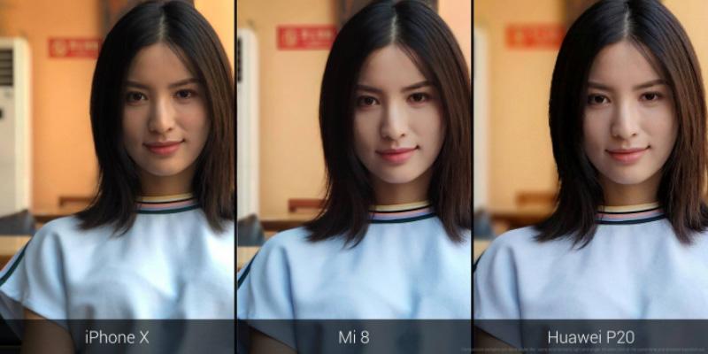 modo retrato Xiaomi Mi 8 MIUI 10 Xiaomi Mi Band 3