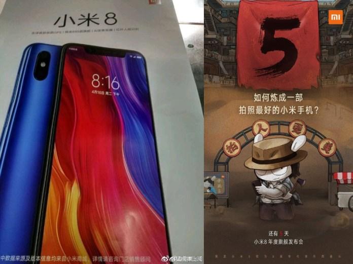 Xiaomi Mi 8 poster Android Oreo Google MIUI 10