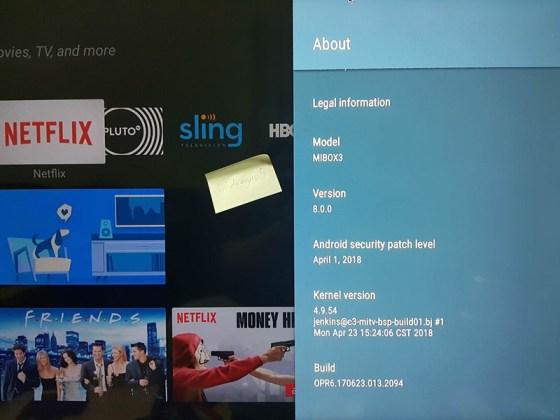Xiaomi Mi Box Android Oreo Google