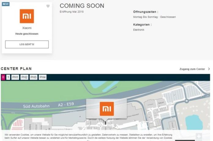 Xiaomi Viena Áustria Mi Store