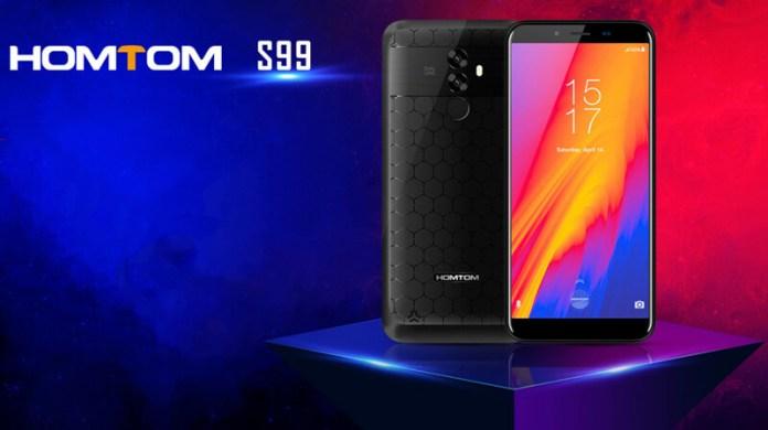 Android. Homtom S99 oferece uma enorme bateria com um baixo preço