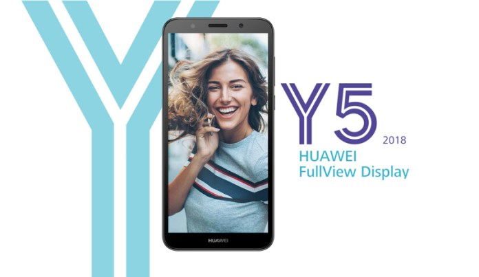 Huawei Y5 2018 Android Oreo