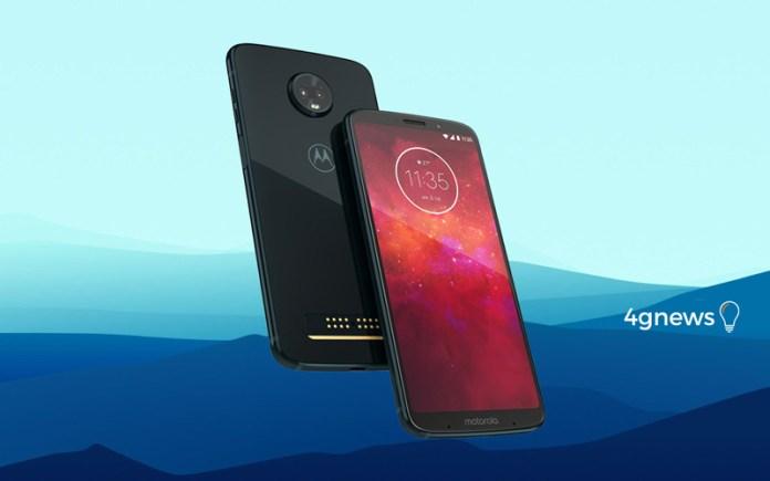 Motorola revela o Motorola Moto Z3 Play de forma oficial