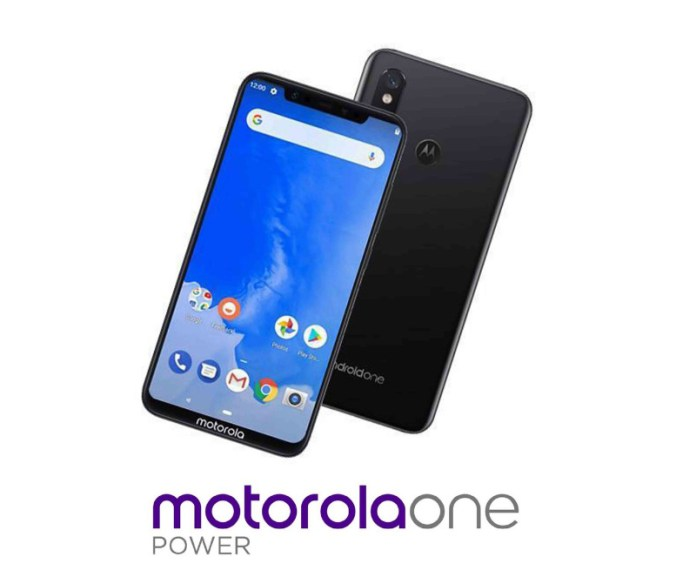 Motorola One Power Android One Google 1