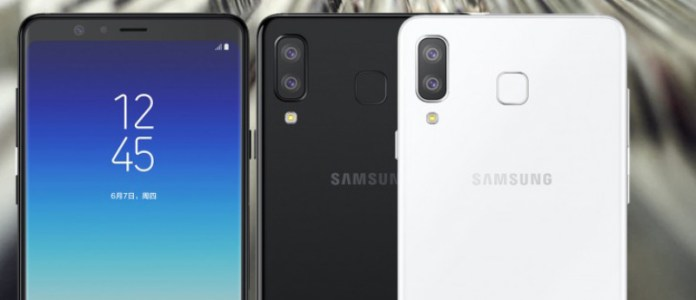 Apple iPhone X Samsung Galaxy A8 Star Android Oreo