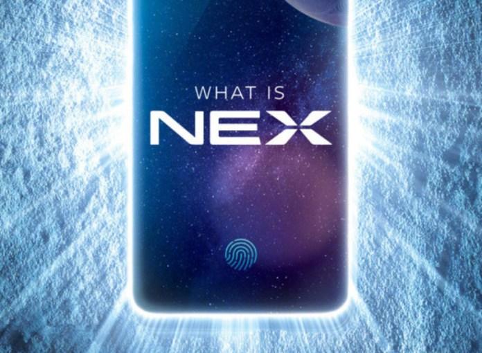 Vivo NEX smartphone Android