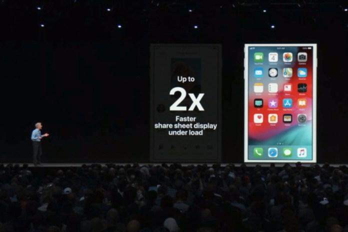iOS 12 WWDC 18 Apple