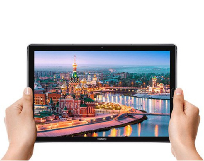 Huawei MediaPad M5 Android tablet GPU Turbo