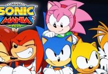 Sonic Mania Plus Sega MegaDrive 1
