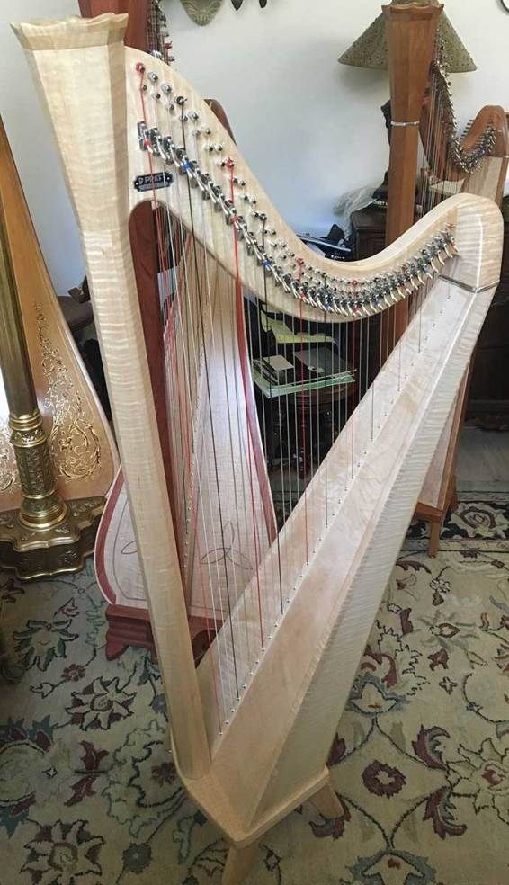 Birds Eye Maple Pratt Princessa Harp for Sale in Dallas