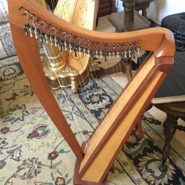 Dusty Strings Harp for Rent