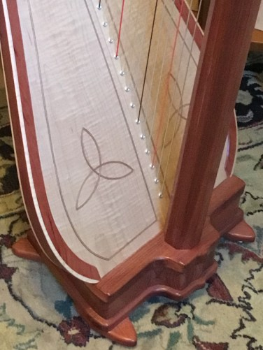 Bubinga Pratt Princessa Sounding Board - Rented with option to buy - Can be re-ordered