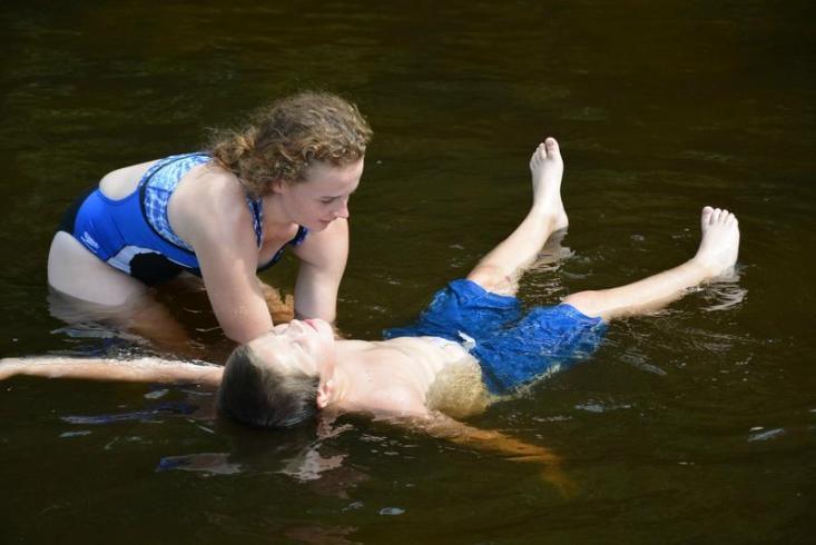 Teach Red Cross swim lessons