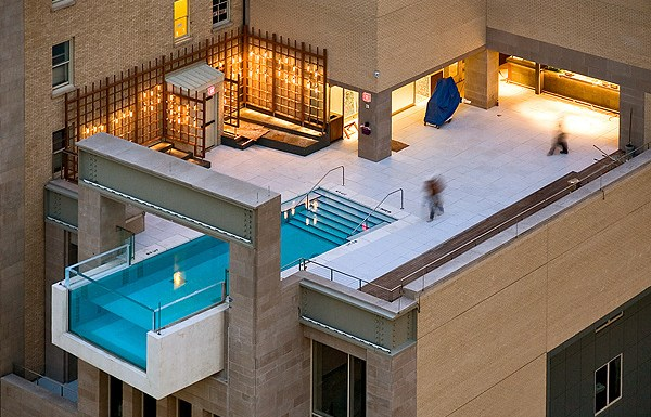 Joule Hotel Dallas Swimming Pool